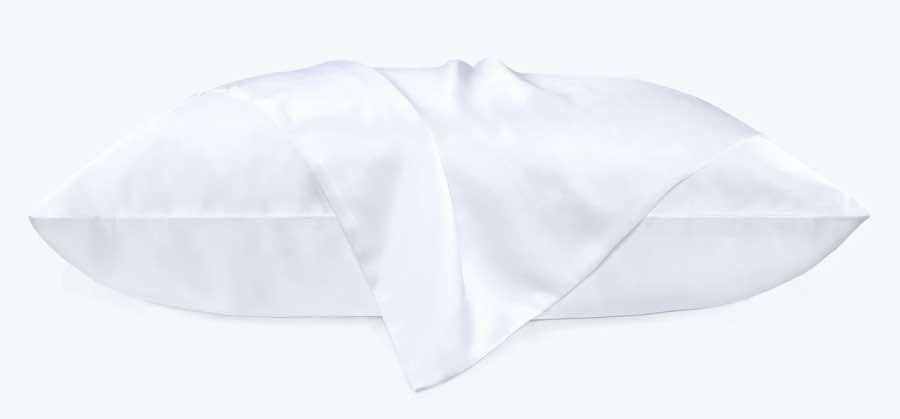 buy white silk pillowcase online